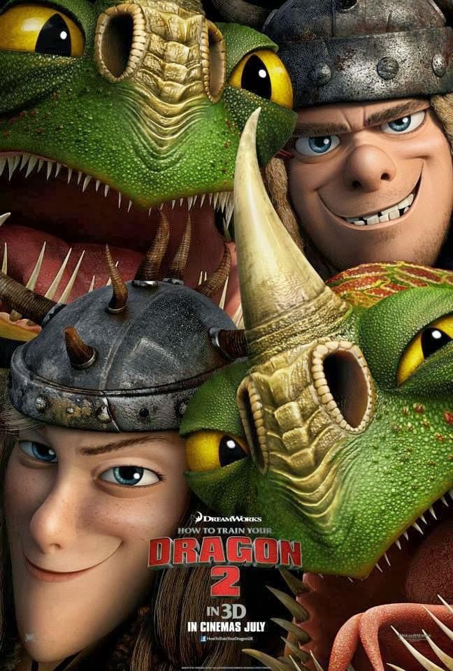 Resultado de imagen de chusco y brusca como entrenar a tu dragon 2